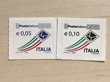 FRANCOBOLLO POSTE ITALIANE - 10 CENTESIMI 5 CENTESIMI POSTA ORDINARIA ANNO 2002