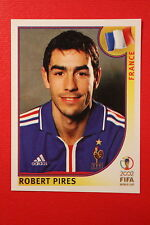 Panini KOREA JAPAN 2002 # 37 FRANCE PIRES NEW With  BLACK BACK TOPMINT!!