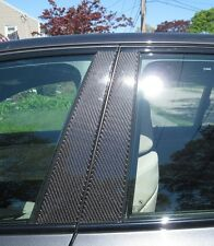 Fits Chrysler PT Cruiser 03-10 Real Carbon Fiber Black Window Pillar Posts 6PCS