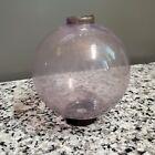 """4.5"""" Amethyst Purple K Kress Glass Lightning Rod Ball Sphere for Weather Vane"""