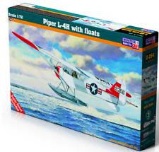 PIPER L-4 H CUB ON FLOATS (USAAF & POLISH RED CROSS MKGS) #D254 1/72 MISTERCRAFT