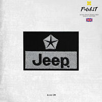 Jeep Motor Car Brand Logo Patch Iron On Patch Sew On Badge Embroidered Patch