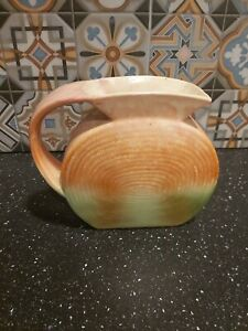 Vintage SylvaC POTTERY Vase / Jug #1175 Art Deco 'Pilgrim Shape' 1935 VGC