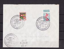 ec62/ Enveloppe   biénale des peches   Lorient   1962