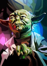 Yoda Diamond Painting Kit 30 x 40 cm like cross stitch