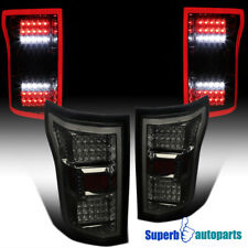 For 2018-2020 Ford F150 Smoked Full LED DRL Strip Rear Brake Tail Lights