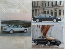 AUDI A8, A8 Long & S8 Saloons Press Photo lot x3 2000 - no brochure