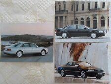 AUDI A8, A8 long & S8 saloons press photo lot x3 2000-No Brochure