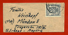 MIGNON ENVELOPE, BELGIQUE BELGIE STAMP OF 60 C, TO BAYERN MÜNCHEN     m