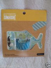 K & Company Smash Whale Tape Dispenser  Clear New Scrapbook
