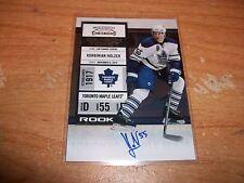(4) 2010-11 Hockey Contenders Dalpe Omark Palmieri Holzer Rookie Auto Cards Lot