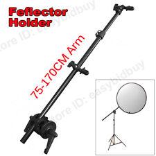 Photography Reflector Mount Disc Grip Holder 75-170 cross Arm boom stand Bracket