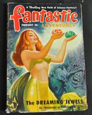 Fantastic Adventures Volume 12 #2 Vg-Fine The Dreaming Jewels Theodore Stugeon