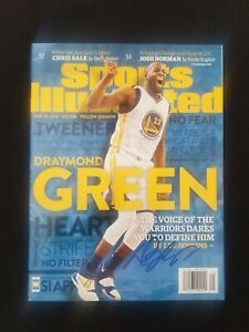 Golden State Warriors Draymond Green signed autographed Sports Illustrated SI