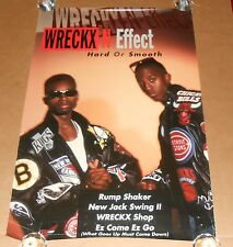 Wreckx-N-Effect Hard or Smooth Promo 1992 Original Poster 24x36