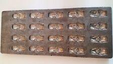 "Vintage Industrial Chocolate Praline Mold Easter Bunny,Rabbit,St. Steel  14""x 6"""