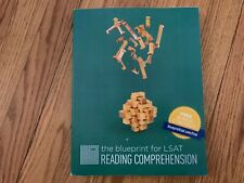The Blueprint for LSAT Reading Comprehension EXCELLENT condition Looks UNUSED