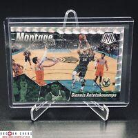 Giannis Antetokounmpo 2019-20 Mosaic Mosaic Prizm Silver Refractor