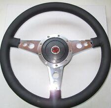 "New 14"" Leather Steering Wheel & Adaptor MG Midget 1978-1979 Moto-Lita Moto Lita"