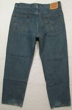 MENS LEVIS 550 RELAXED FIT JEANS SIZE 36 X 30