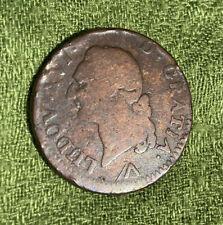 France Sol 1781 W - Copper - Louis XVI