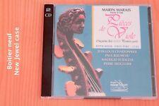 Marin Marais - Pièces Viole 5ème Livre 4 suites - Charbonnier - 2 CD Verany
