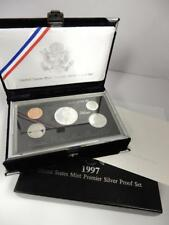 1997 US Mint Premier Silver Proof Set,  GOP & COA   #G18