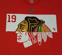 Chicago Blackhawks Jonathan Toews T Shirt XL X-Large NWOT New NHL Hockey INV2192