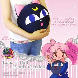 37cm Anime Sailor Moon Luna Cat Plush Doll Soft Stuffed Toy Pillow Cushion Gift