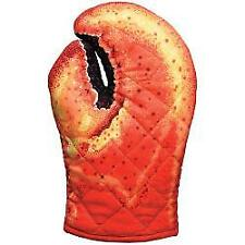 Boston Warehouse Lobster Claw Cooking Oven Mitt, Quilted Cotton
