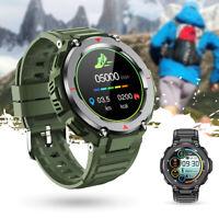 Bluetooth Smart Watch Blood Pressure Heart Rate Monitor Sport Bracelet Wristband