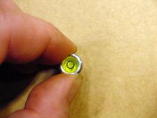 Ø 12 mm Dosenlibelle Wasserwaage Libelle zum Aufkleben für Waagen Plattenspieler