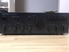 ONKYO INTEGRA A-8250 Integrated Stereo Sound Amplifier.Made in Japan.Metal,Black