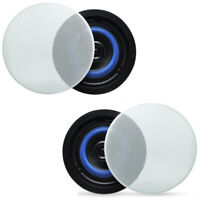160 Watts 2-Way Flush Mount in Ceiling/in Wall Speakers For Home Stereo System