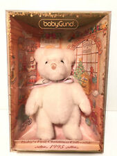 BABY GUND ~ BABY'S FIRST CHRISTMAS ~ 1995