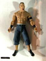 WWE WWF Deluxe Aggression John Cena Figure Jakks 2005