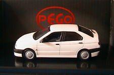 ALFA ROMEO 146 1.7 16V STRADALE BIANCO PEGO 1/43 1995 PG 1036 WHITE WEISS LHD