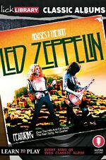 LICK LIBRARY Learn HOUSES OF THE HOLY CLASSIC ALBUMS LED ZEPPELIN GUITAR DVD SET