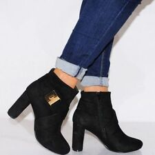 Suede Casual Ankle Boots for Women