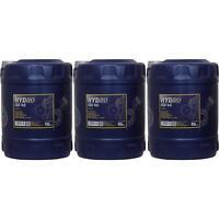 30 Liter MANNOL HYDRO ISO 46 Hydraulik Öl Flüssigkeit MN2102-10 DIN 51524 part 2