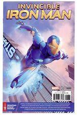 1)INVINCIBLE IRON MAN Vol.3 #13(11/16;1st)CANCER AWARENESS VARIANT(CGC IT)9.8!!!