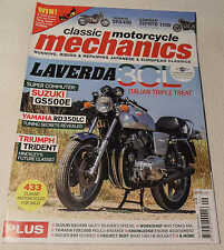 Classic Mechanics Sep 2013: Yamaha FZR1000, Suzuki T125, GS500E, Laverda 3C,