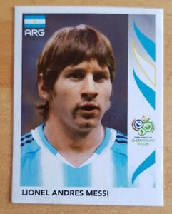ROOKIE MESSI. PANINI WORLD CUP 2006 STICKER. NEAR MINT CONDITION