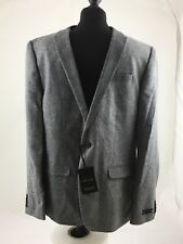 River Island Grey Suit Jacket Size 44