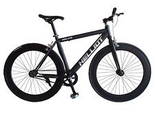 HELLIOT 2016 black new Single Speed freewheels bike Fixed Gear / fixie Road Bike