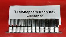 "Open Box - Genius Tools 12pc 3/8"" Dr. Metric Deep Hand Socket Set GD-312M"