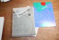 VTG 1988 Diagraph 2000 Software Manual + Symbol Handbook for IBM PC