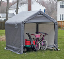 New listing Dirt Bike Storage Canopy Shed Kit Outside Tent Cover Garden Metal Frame Yard