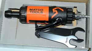 Matco Tools MT5880 .85 HP Straight Die Grinder Orange NEW in Open Box NIOB
