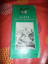 Guide vert Michelin 23 édition Alpes Savoie Dauphiné